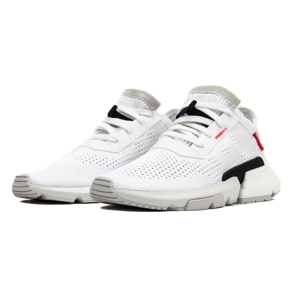 f3e5077ed51aa Adidas POD-S3.1 (Cloud White Shock Red) FOOTWEAR MEN at ...