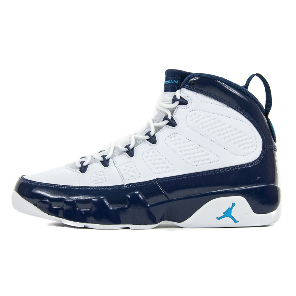 Jordan Air Jordan 9 Retro (White/University Blue)