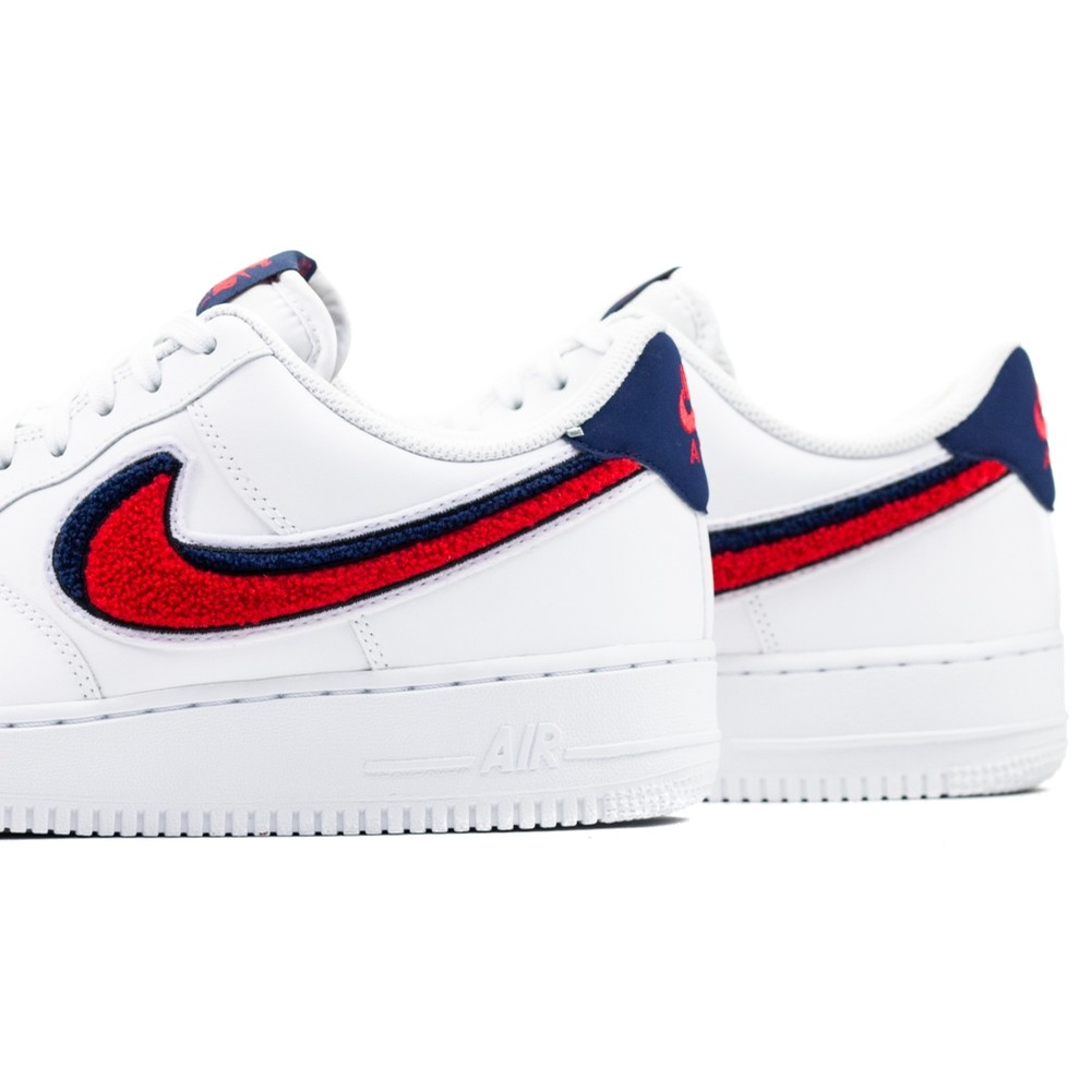 Air Force 1 07 LV8 (White/University Red/Blue Void)