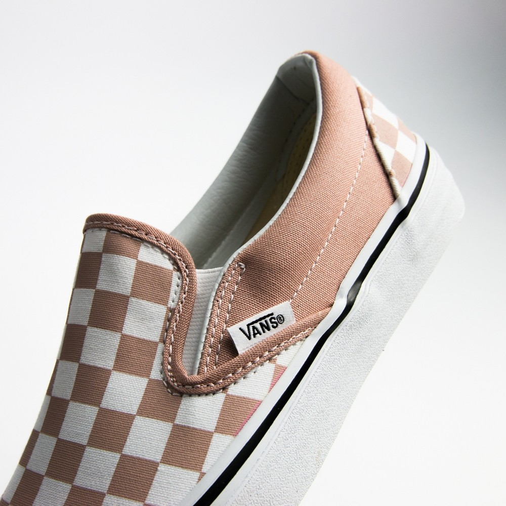 Vans Classic Slip-On (Checkerboard/Mgny Rose/True Wht)