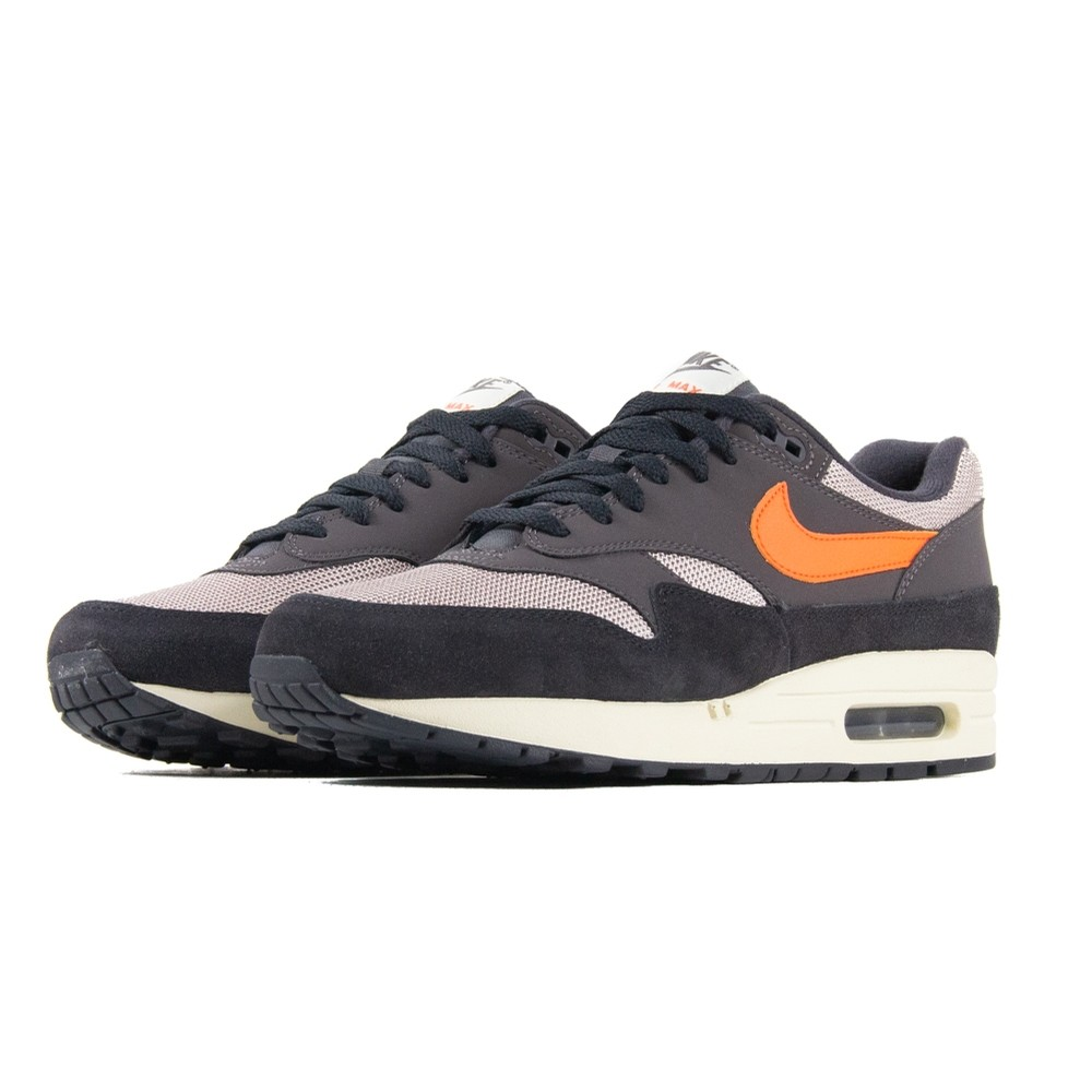 NIKE Air Max 1 (Oil Grey/Wild Mango)