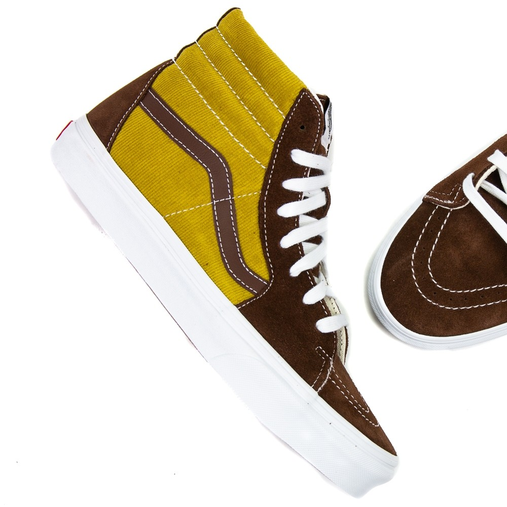 U Sk8-Hi (Potting Soil/White)