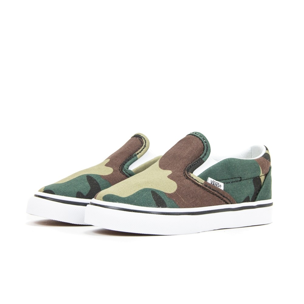 Vans Classic Slip-On Toddler (Camo/Woodland)