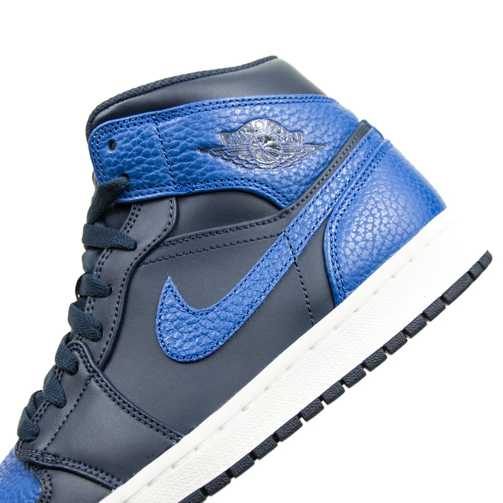 Jordan Air Jordan 1 Mid (Obsidian/Game Royal)