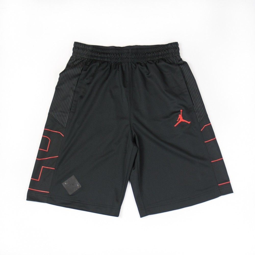 Air Jordan 9 Basketball Short (Black/Red)