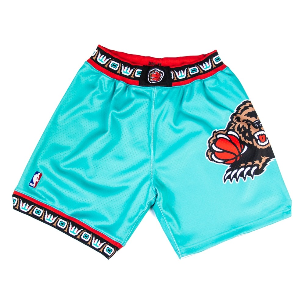 Mitchell & Ness Authentic Vancouver Grizzlies Shorts (Teal)