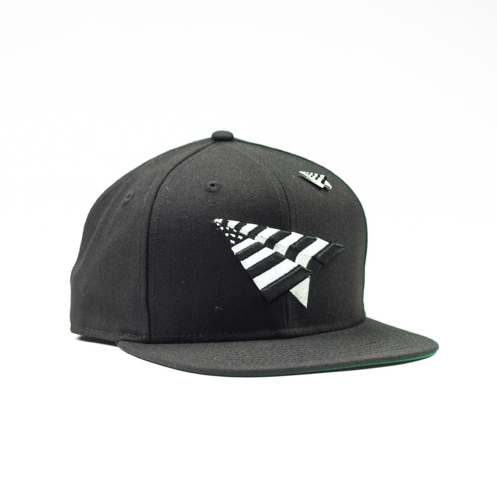 Rocnation The Crown Snapback (Black/White)