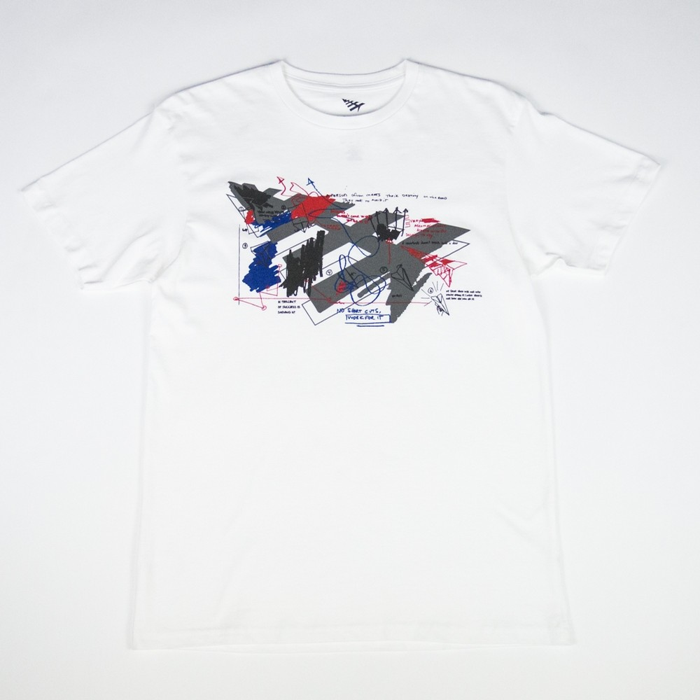 Sketched Tee (White)