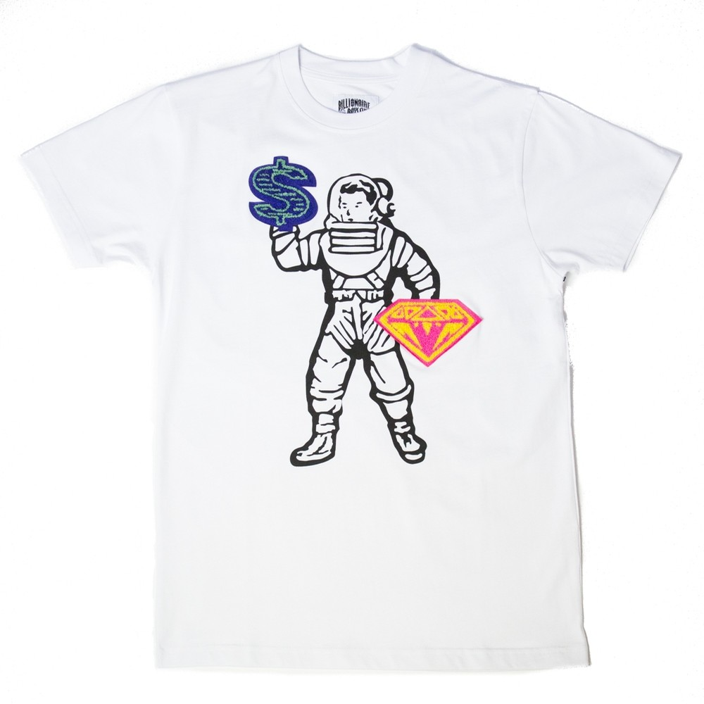 Billionaire Boys Club BB Sign Language Knit Tee (White)