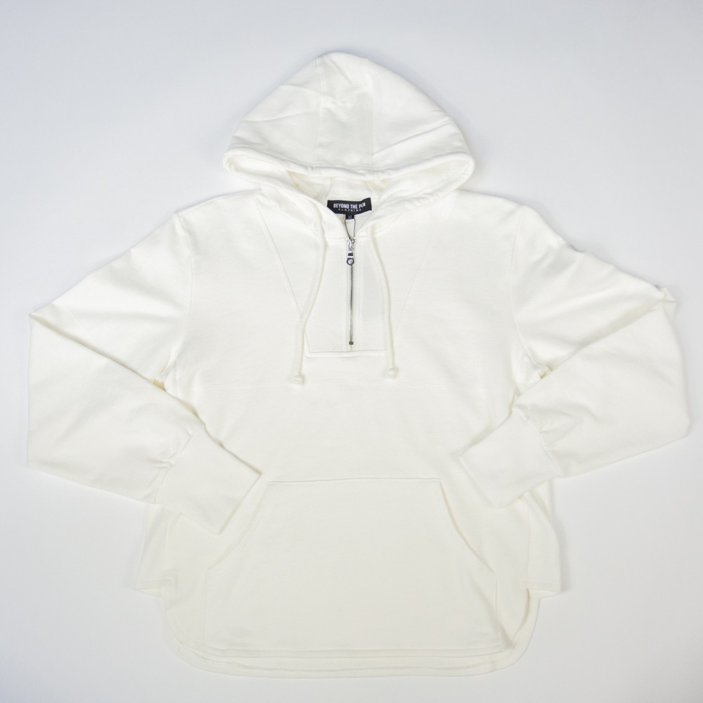 Beyond The Pen Clothing Zip Up Hoody (White)