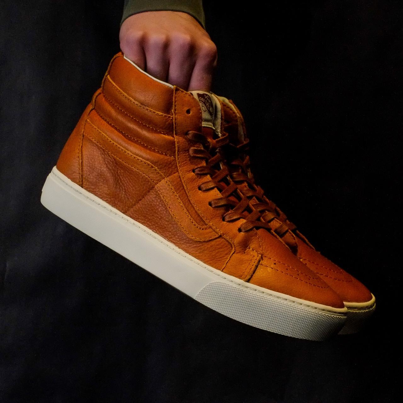 Vans Sk8-Hi Cup CA Leather (Henna)