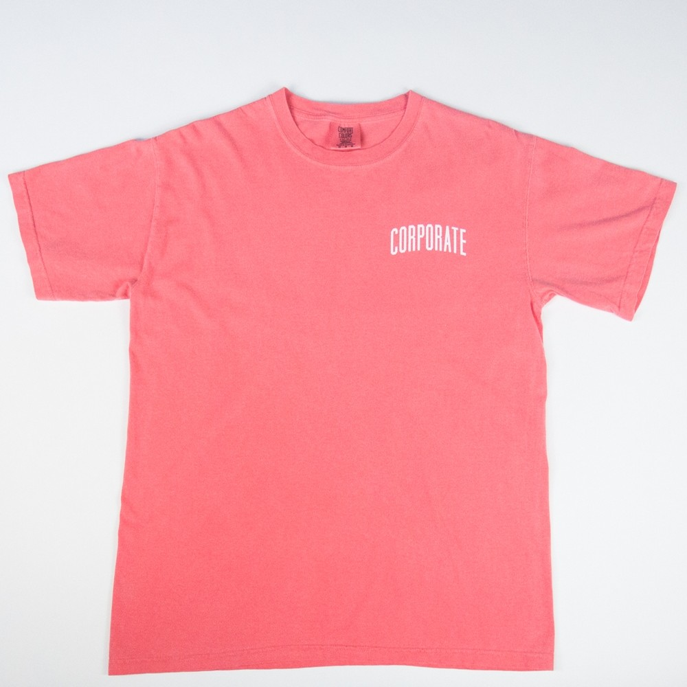 Corporate Washed Tee (Watermelon)