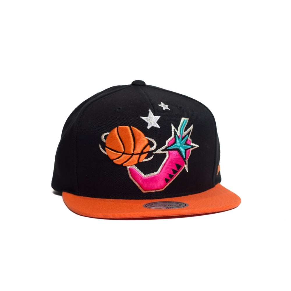 1996 All Star Snapback (Black/Orange)