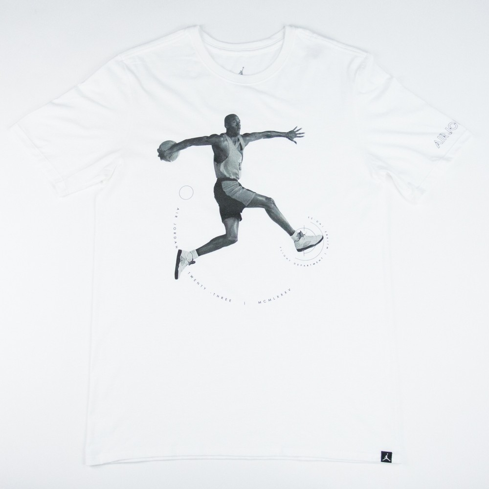 Air Jordan 5 Flight Department Tee (White)