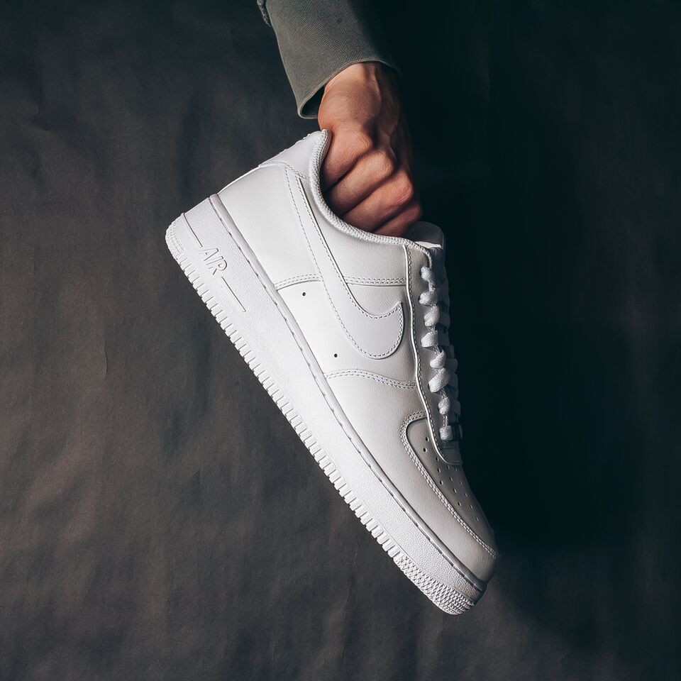 NIKE Air Force 1 Low (White/White)