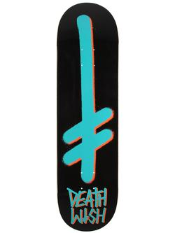 Gang Logo Deck (Black/Seafoam)