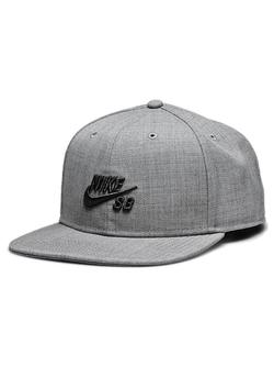 SB Icon Snap Back Hat (Dark Grey Heather)