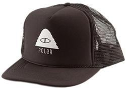 Cyclops Trucker Hat (Solid Black)