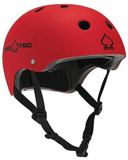Classic Skate Helmet (Matte Red 12)