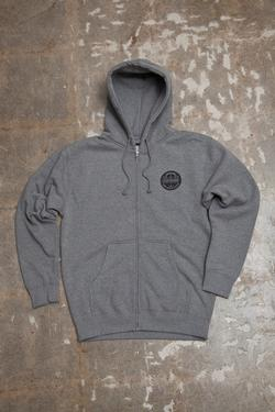Sprocket Zip Fleece (Heather Grey)