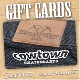 Cowtown Gift Card