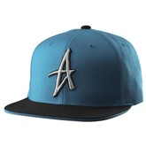 The Wood Snapback (Teal)