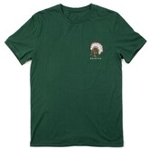 Crow S/S Premium Tee (Forest Green)