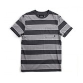 Ray S/S Knit (Grey Stripe)