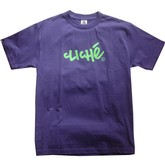Handwritten Classics S/S Tee (Purple/Green)
