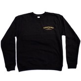 Triple Star Crewneck Sweater (Black)