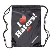 Haters Cinch Bag (Black)