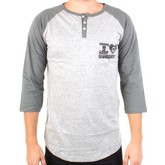 Greenfield Henley (Grey/Charcoal)