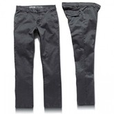 K Slim EE Heather Chino (Black Heather)