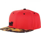 Daily Cap (Red/Floral/Black)