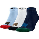 Nike Skate Dri-Fit Ankle Sock 3-Pk-L (Assorted)