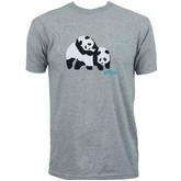 Piggyback Panda S/S Tee (Athletic Heather)