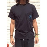 Flying Cow Pocket Tee (Black)
