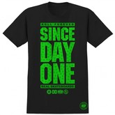 Since Day One Huf Edition S/S Tee (Black)