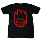 Bighead S/S Tee (Black/Red)