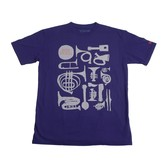 New Sounds Tee (Navy)