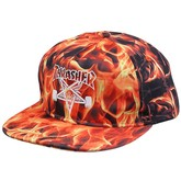 Inferno Snapback Hat (Flame)