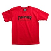 Skate Mag Youth Tee (Red)