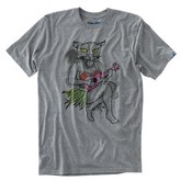 Hula Cougar Tee (Rock Grey Heather)