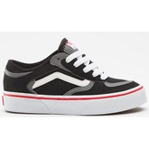 Kids Rowley Pro (Black/White/Red)