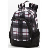 Van Doren Backpack (Black/White/Red Plaid)