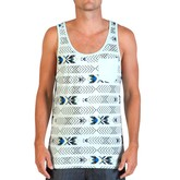 Taxing Tank Top (Glacier Blue)