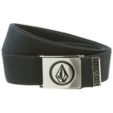 Circle Stone Web Belt (Black)