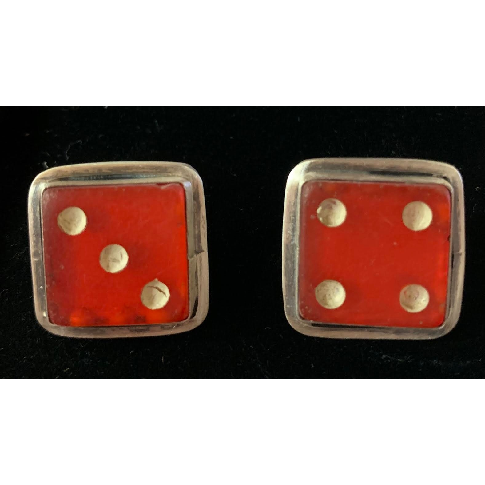 Large Vintage Dice Cuffs