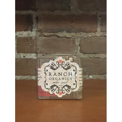 Steamboat Soap Company Ranch Organics Goats Milk Soap (Cedar Wood)