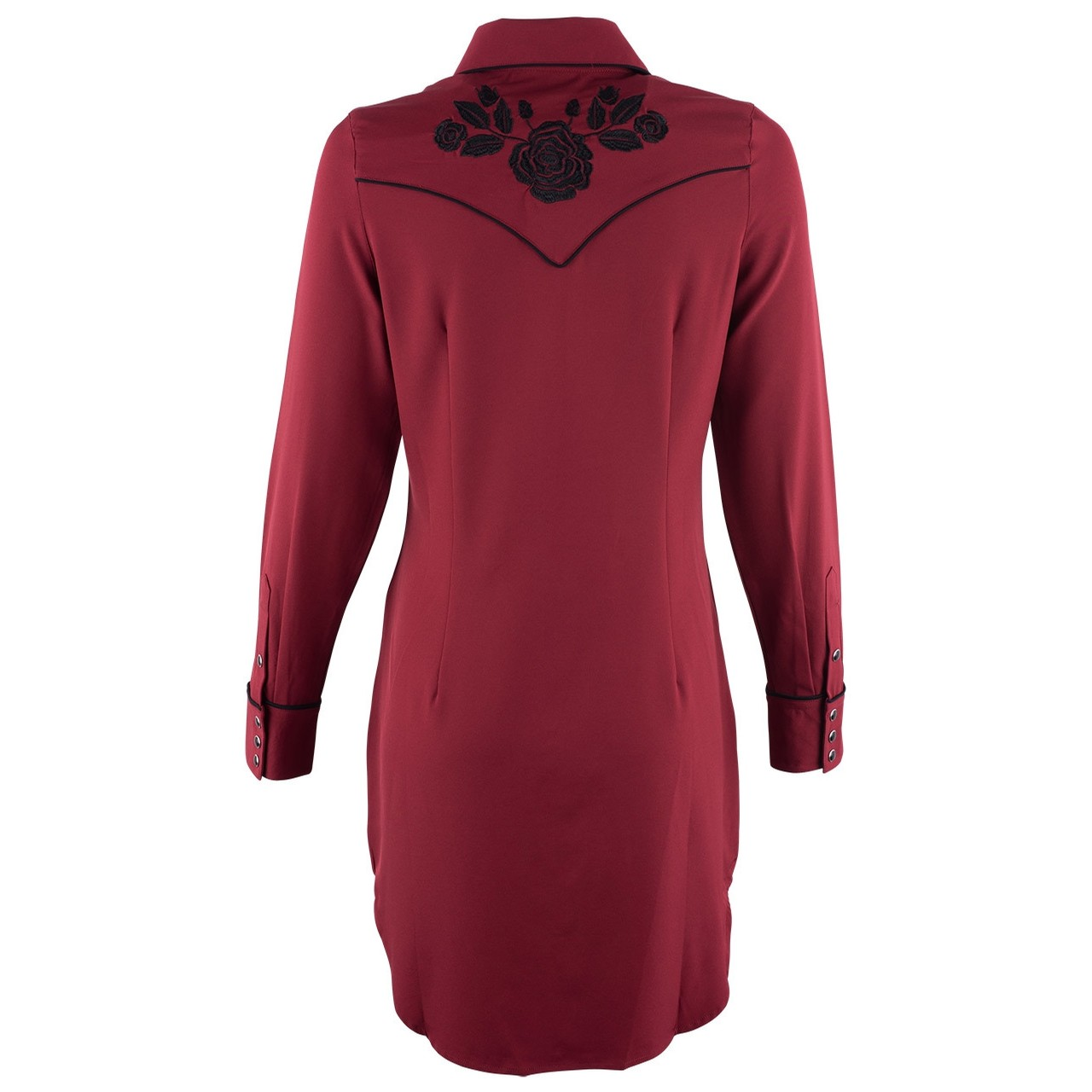 Roper Women's Retro Dress With Embroidery